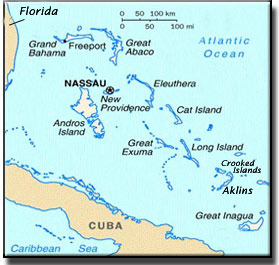 Maps of the Bahamas! - 1.866.FLY.ISLANDS
